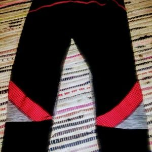 Athletic workout pants females spandex and poly
